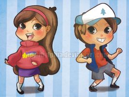 Gravity Falls by Lady-Zhylphia