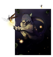 Chasing Fireflies - 3rd free art by finiens