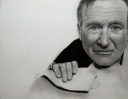 Robin Williams by BladaMerry