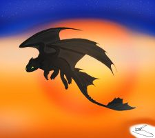 Toothless by Saphoras