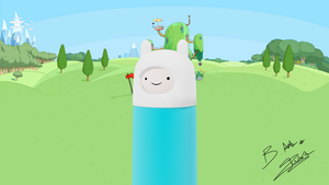 Finn the Human 3d model preview by AxzlRose