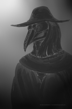 Plague Doctor by Shadow-Arcanist