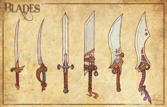 Swords, Blades, Giant Butter Knives by Reganov