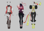 Adoptable Outfit Auction 4-6 (1/3 OPEN) by Liowa