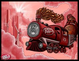 Next Stop... Dr. Pepper by TOMAHAWK-DRAGON
