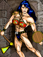 Heraclea (gladiator version) by IHCOYC