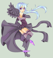 Com: Dark Angel by ZabuKawaii