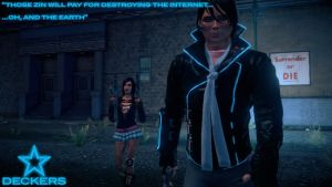 Saints Row 4 - Deckers Snapshot #2 by PrincessCakeNikki