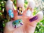 Toy Story Nails by jeealee