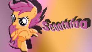 Scootaloo Wallpaper by schocky