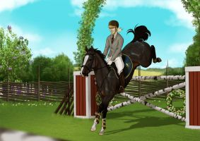 Summer Solstice Showjumping Grand Prix by SilvesterVitale
