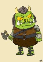 Gamorrean Guard by striffle