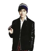 {PNG/Render #142} Suho (EXO) by Larry1042k1
