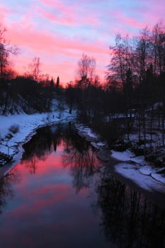 a river of colors by KariLiimatainen