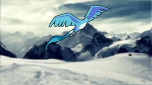 Articuno Wallpaper by Johannes-3108