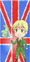 APH: England Bookmark by starlite-decay