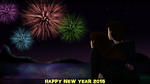 Happy New Year 2015 by SkyBlueArts