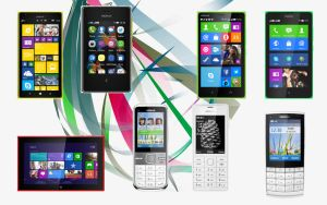 Nokia Smartphone Collections by AnwarRental
