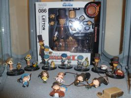 Professor Layton Figurines 1 by Linksliltri4ce