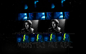 monsters are real - rory w. by survivekaleidoscope