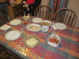 2015 Thanksgiving Table by BigMac1212