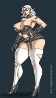 Commission:Orininal Character 2 by Osmar-Shotgun
