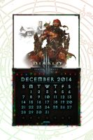 Caldendar Mobile #2: December 2014 by Holyknight3000