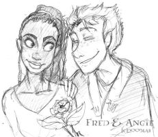 Fred and Angelina - HP by lberghol