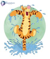 Tigger by Laurine-Tellier