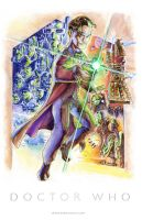 Doctor Who by derrickfish