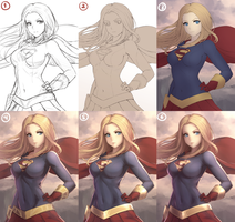 Supergirl (STEP BY STEP) by Hananon
