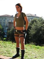 Lara Croft Tomb Raider Legend by AnaMaria88
