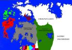 Political Map of the Ardionic Peninsulae by StrangeStickmanStuff