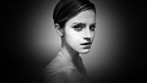 Emma Watson Glamour Portrait by Dave-Daring