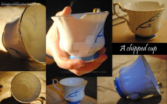 Rumplestiltskin's Chipped Cup by yrantho