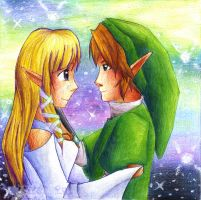 ZeLink: A Happy Reunion by HyliaBeilschmidt