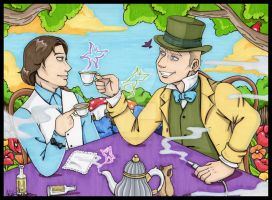 Commission: Daniel in Wonderland by Winds-Blade