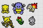 Pokemon Pixel Art by Brainless937