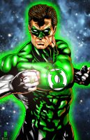 Green Lantern-Tyndall and BigRob by BigRob1031