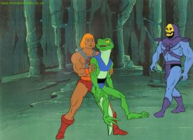 He-Man Skeletor Production Cel by AnimationValley