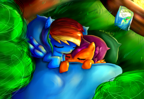 Day 2 - Sleepless in Ponyville by WendySakana