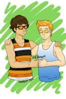 Bros by chloisssx3