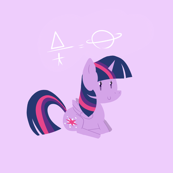 New Twilight Sparkle by Elslowmo