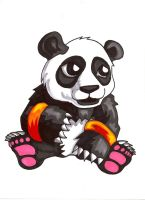 Pocket Fighter - Panda by fastg35