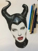 WIP Maleficent by iSaBeL-MR