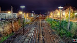 Trier City Train Station HDR by 55Laney69