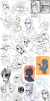 Sketch dump 59 by LiLaiRa