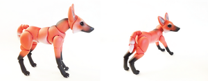 Maned Wolf BJD 07 by vonBorowsky