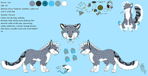 New Leo's reference Sheet by LeoOfTheDeaD