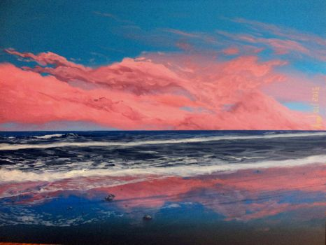 Pink clouds by Axel-Astro-Art